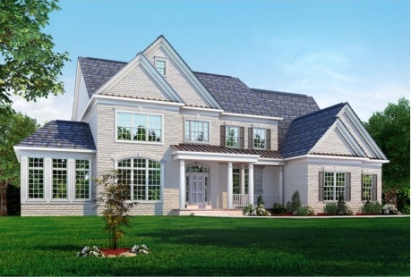 Join us for a tour of a brand new hampton ii classic homes for Classic house tour