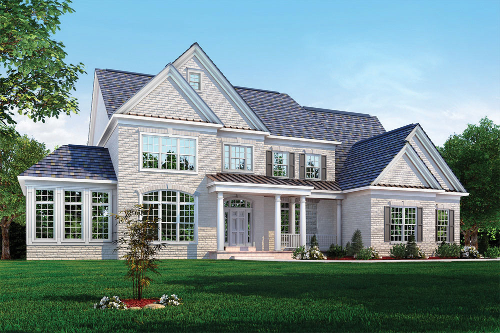 The hampton ii classic homes for Classic builders