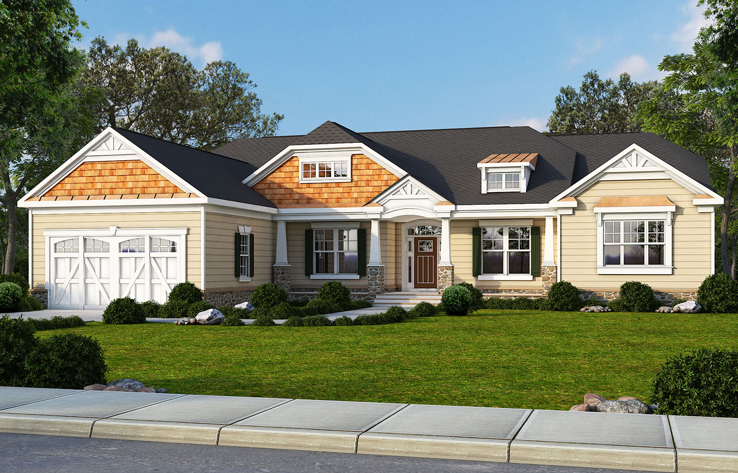 The bennett accessible home classic homes for Classic home builders