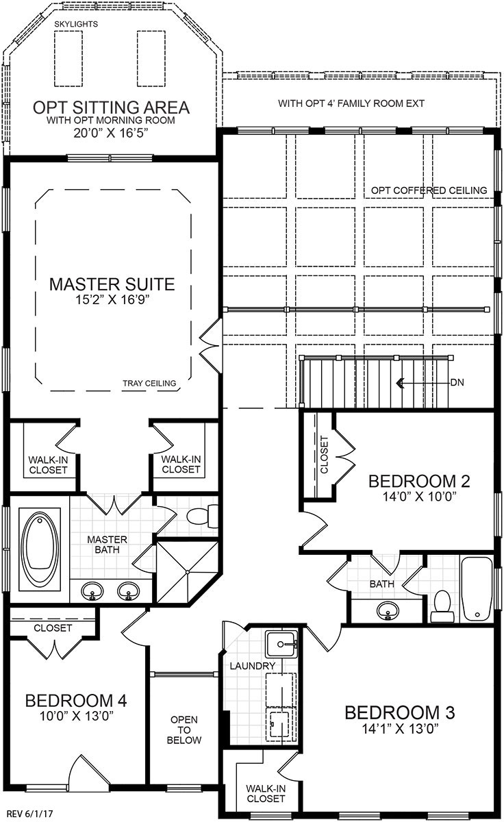 100 Richmond Floor Plan Mascord House Plan 21106