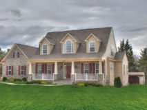 Standar elevation for the Grayson model home.