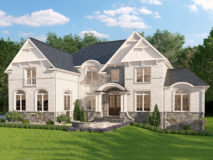 Optional elevation for Potomac Model in cape charles brick.