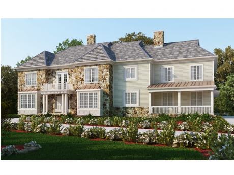 The luxury hampton classic homes for Classic luxury homes