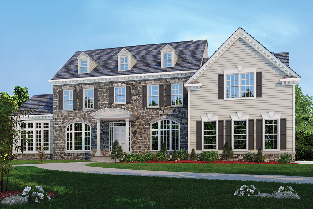 9810 or 9806 hall rd potomac md classic homes for Md home builders