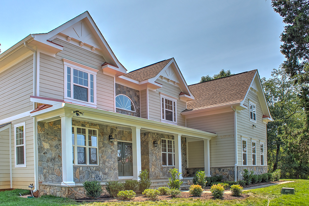 Potomac Model - Craftsman Home Exterior