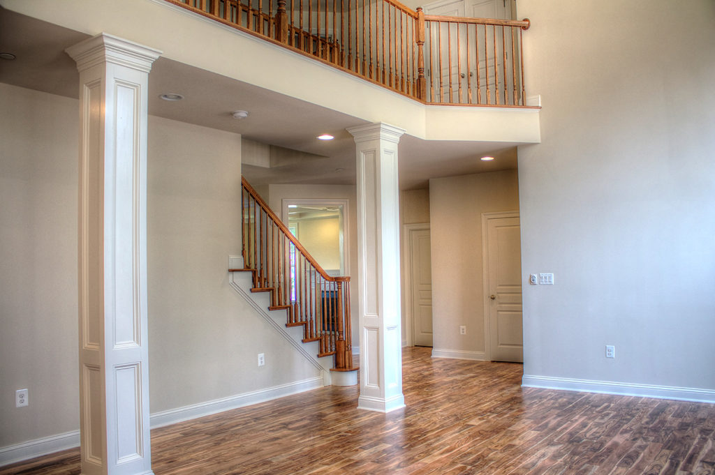 Family Room and Side Stairs