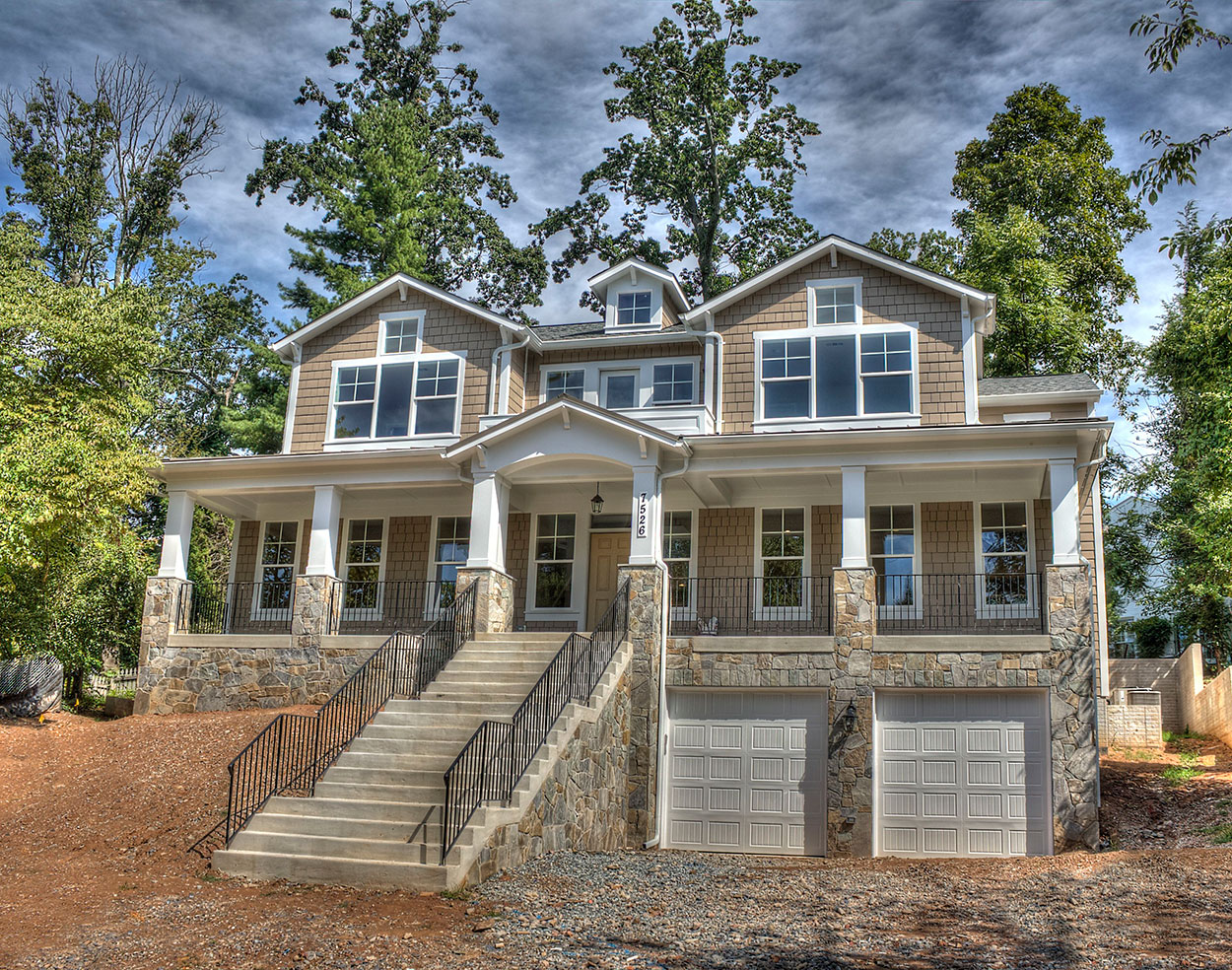 Custom home rosedale model bethesda md 2016 for Classic home builders