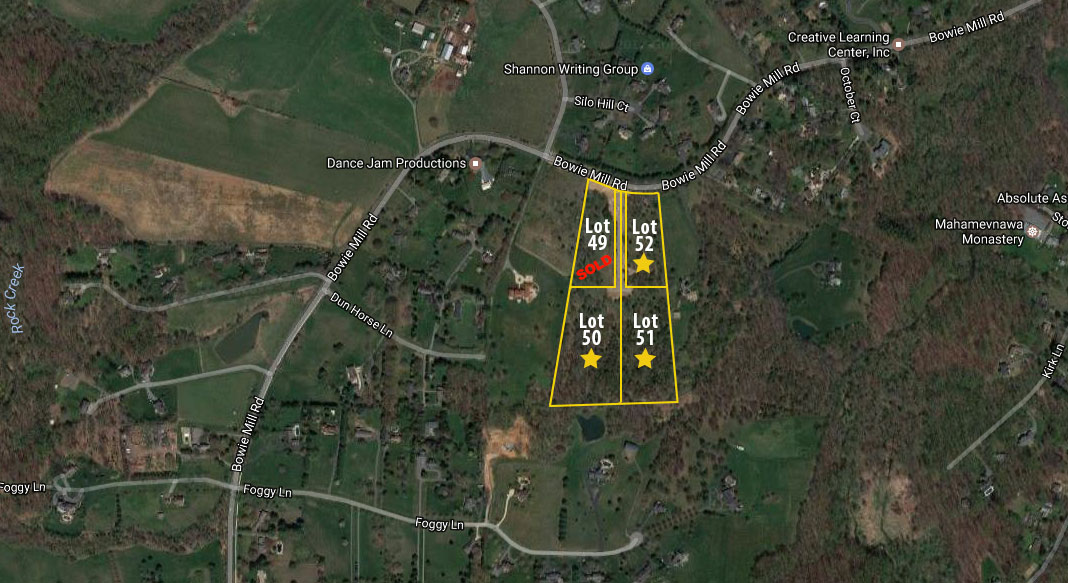 Bowie Mill Estates Bowie Mill Rd Olney MD - Map of us mille silos